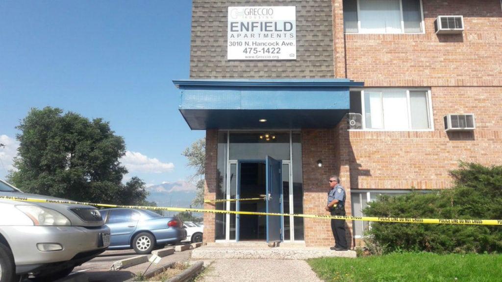 Suspicious death at apartment on North Hancock