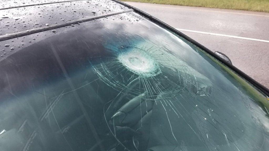 Highway 115 damage