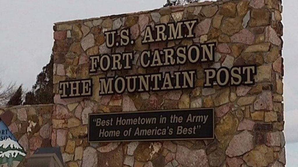Fort Carson Gate