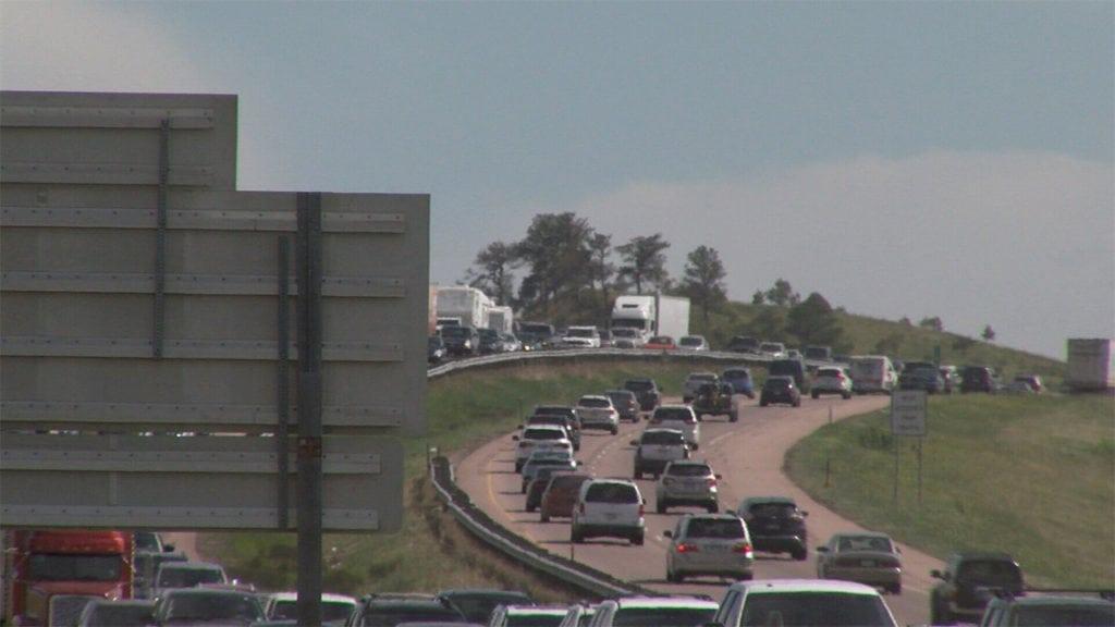 I-25 gap traffic