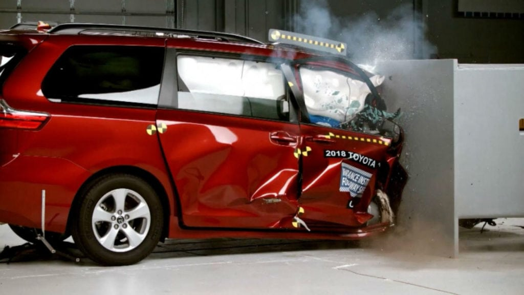 Minivan Crash Tests