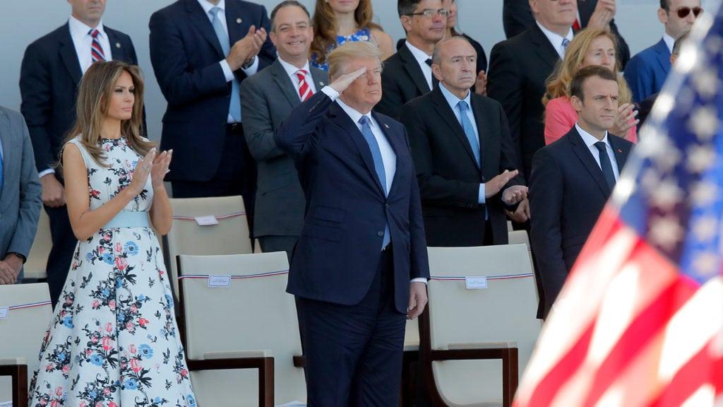 Donald Trump Bastille Day