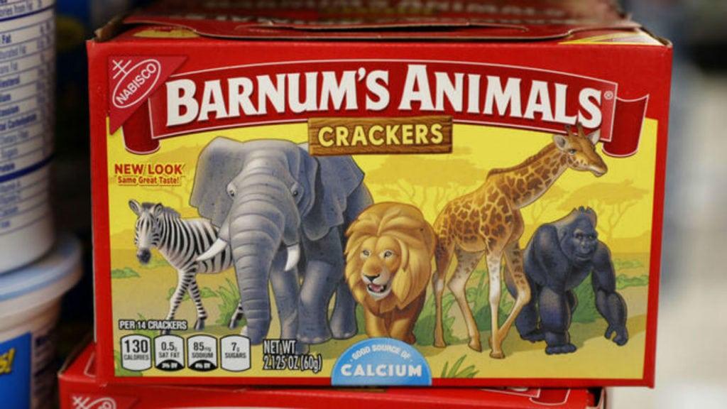 New Animal Cracker Box
