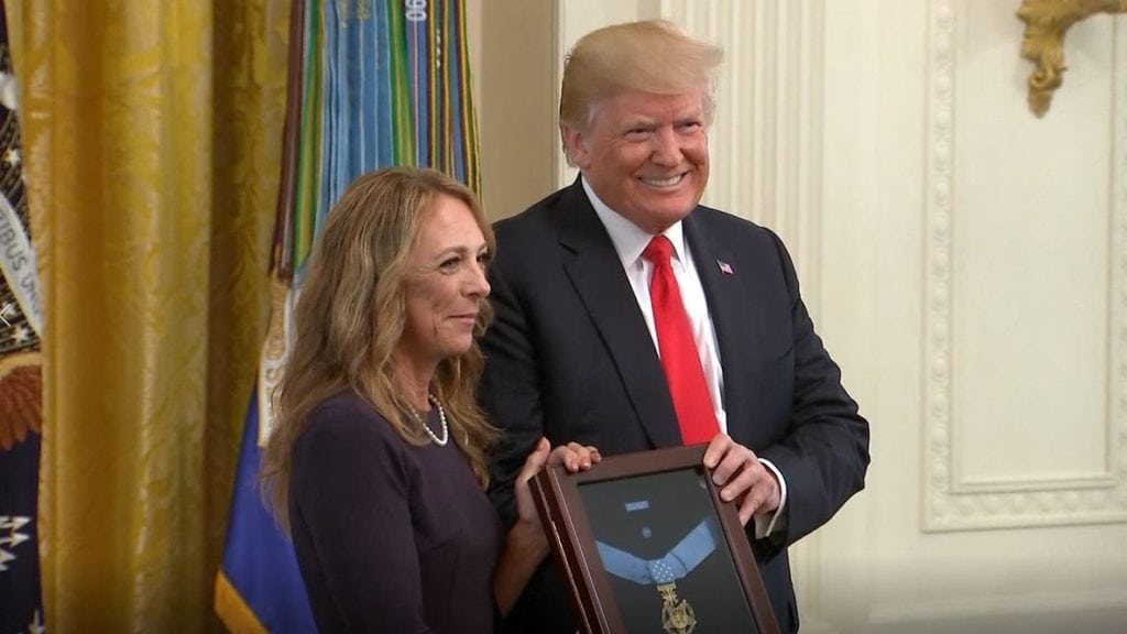 Medal of honor presentation