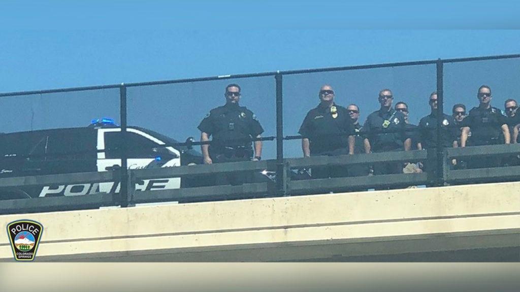Castle Rock Police salute Cem
