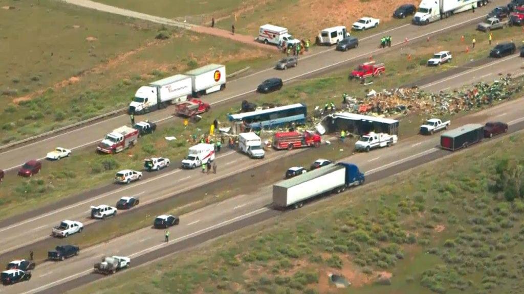 New Mexico bus crash
