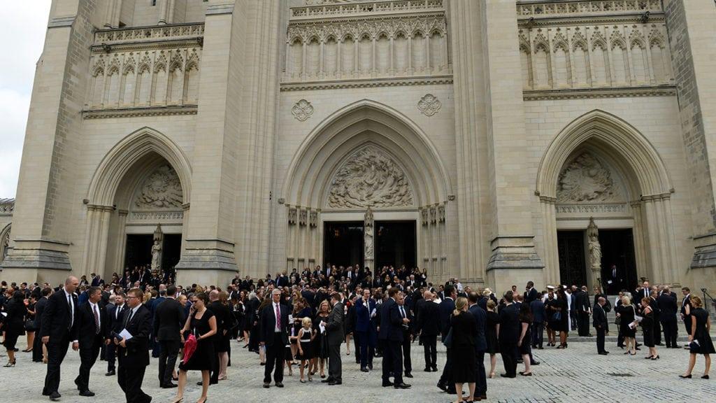 McCain's funeral