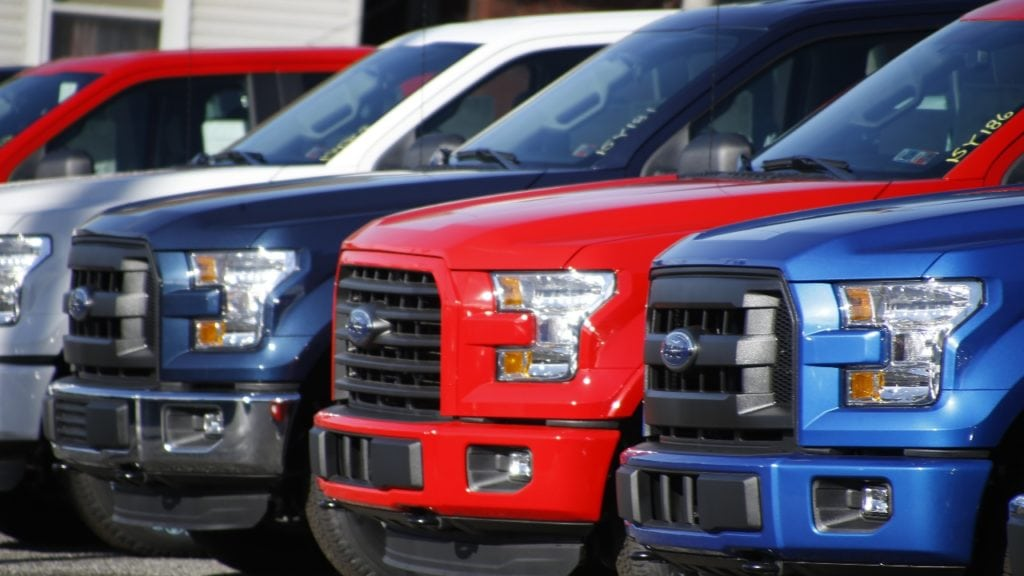 2015 Ford F150s