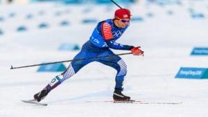 Olympic skier Noah Hoffman