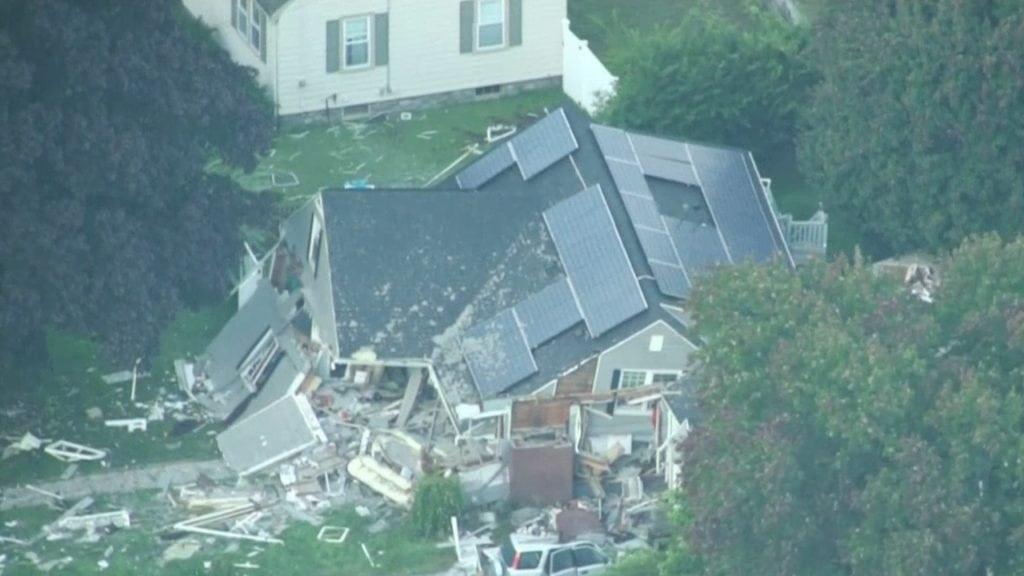 Massachusetts Home Explosion