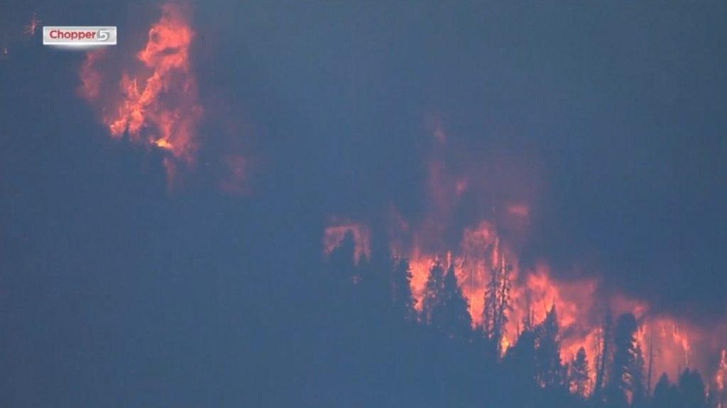 Pole Creek Fire