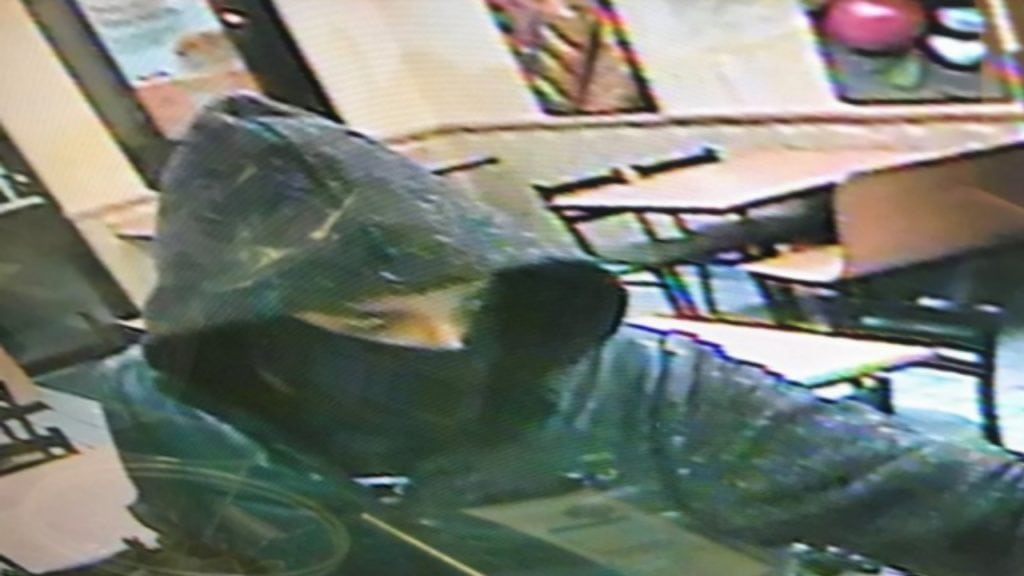 Suspect in Subway store robbery