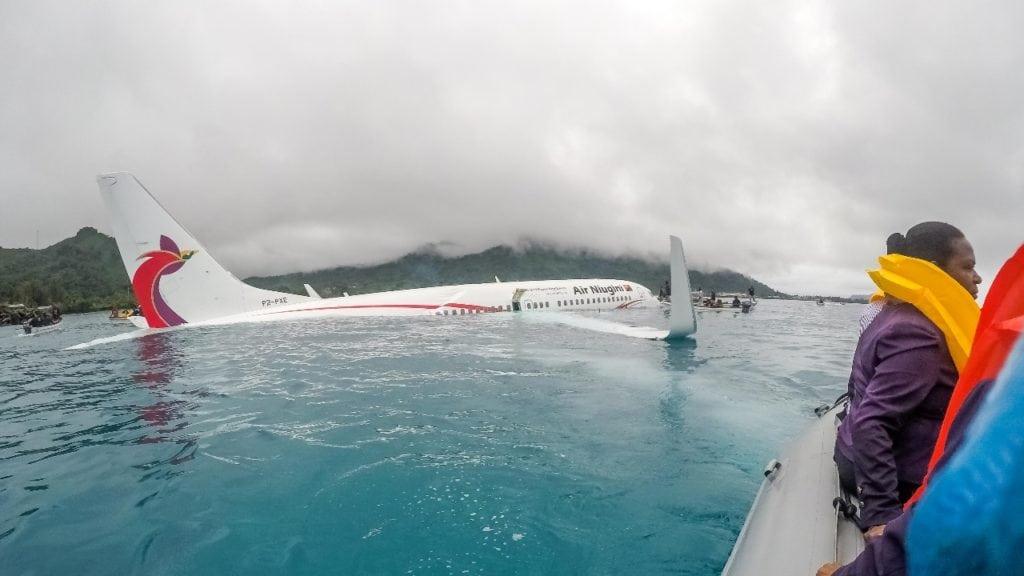 Air Niugini flight PX56
