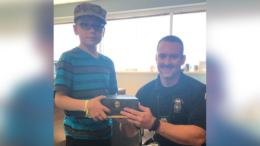 Cooper donation to CSPD