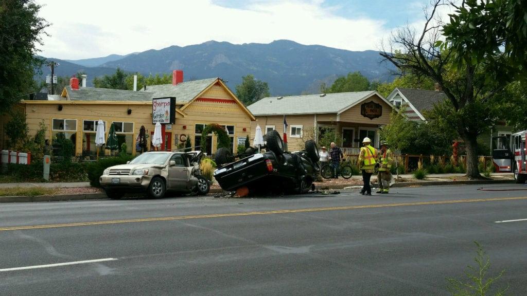 W Colorado Avenue crash. (September 30, 2018)