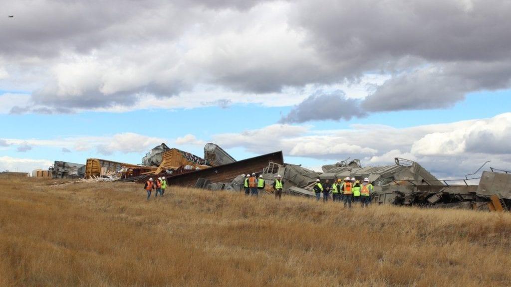 Wyoming Train Derailment