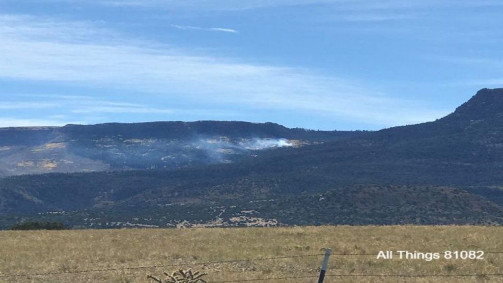 Second Fisher Peak Fire