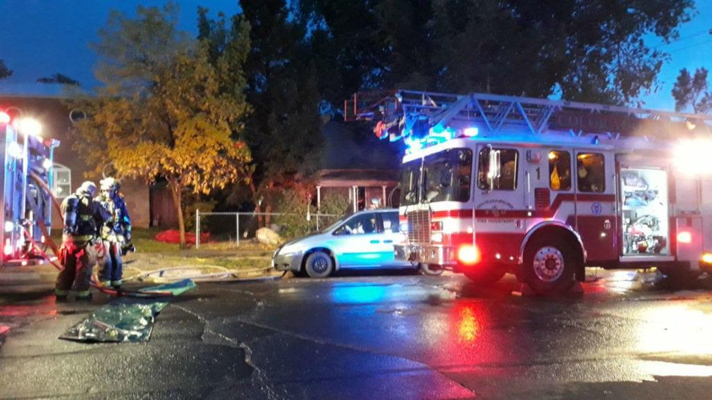 Cimarron House Fire