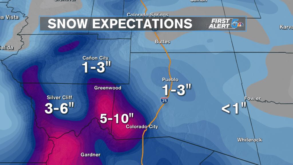 Snow Forecast Arkansas River Valley
