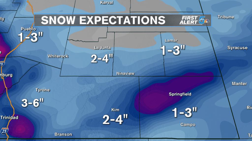 Snow Expectations Plains