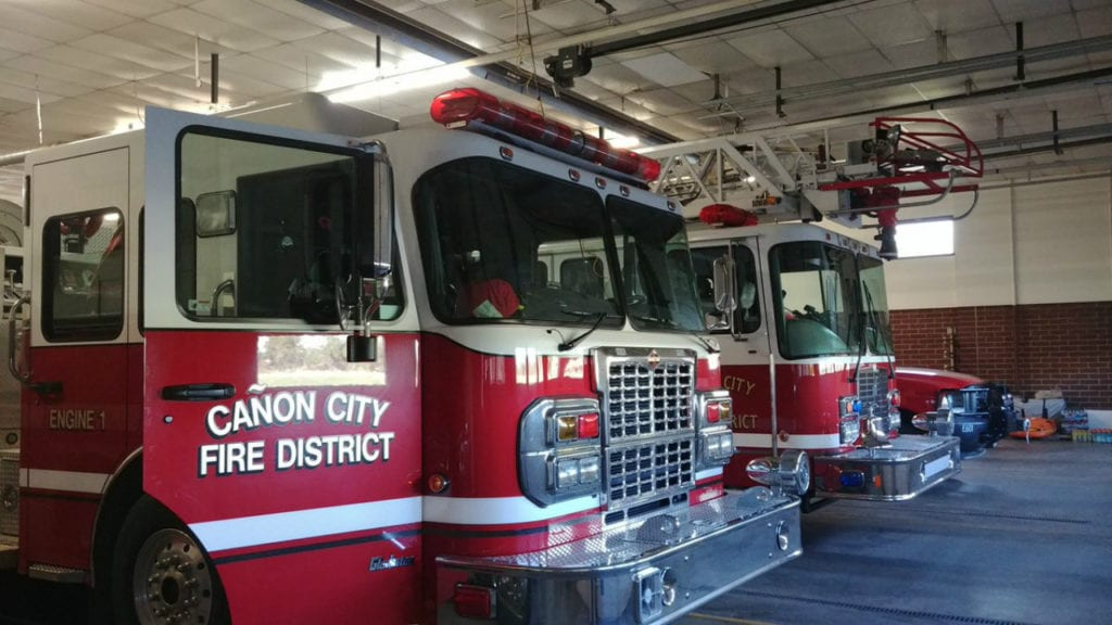 The Canon City Area Fire Protection District is asking voters for a mill levy increase in November 2018 to cover a 25 percent anticipated budget cut thanks to state tax laws.
