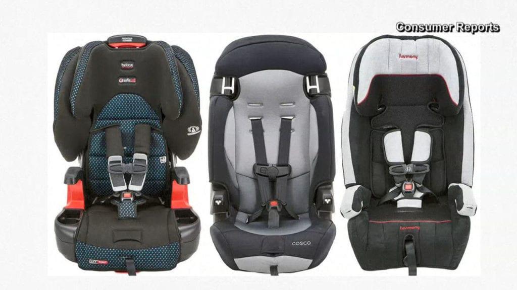 Car seats that fail Consumer Reports test