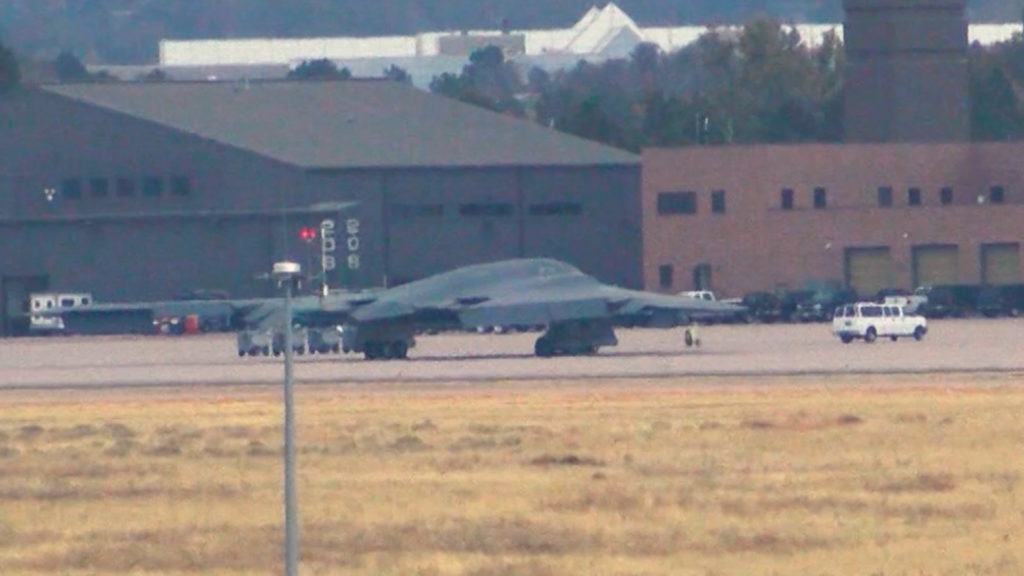 B-2-Stealth-bomber-at-COS-airport