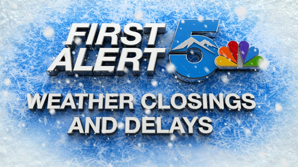 Weather Delays and closings -snow