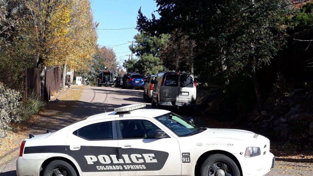 Barricaded Suspect