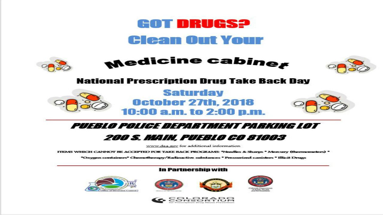 Pueblo prescription take back day