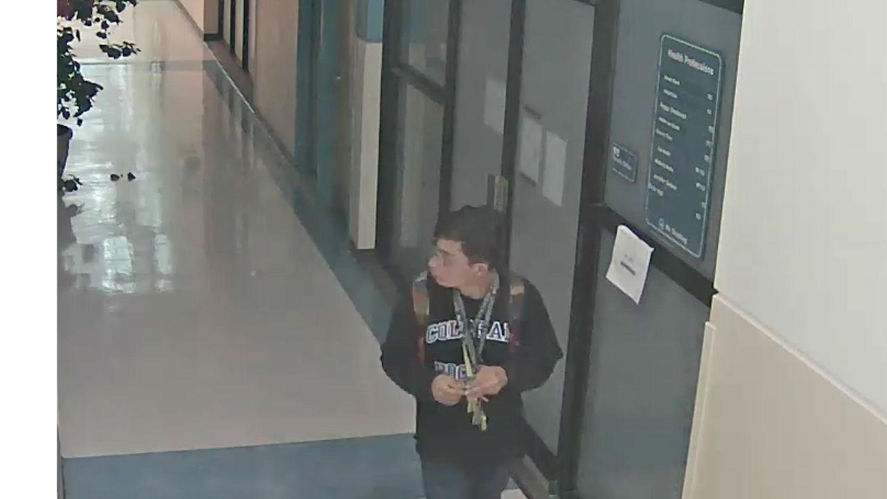 PCC burglary suspect