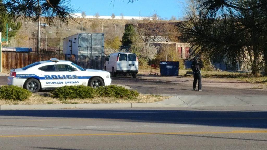 Shots fired call near Pikes Peak Ave