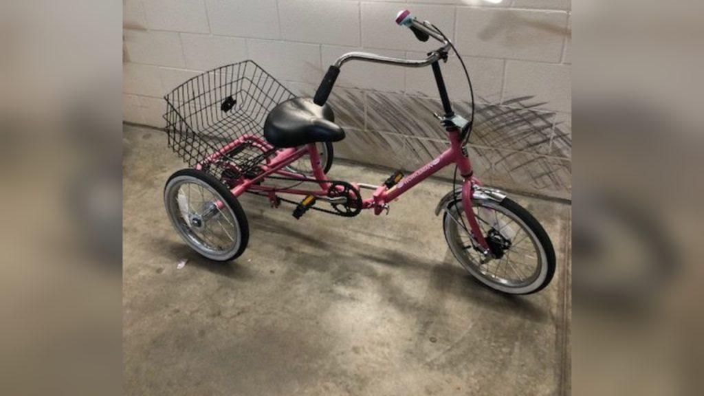 Foutain Bike Found