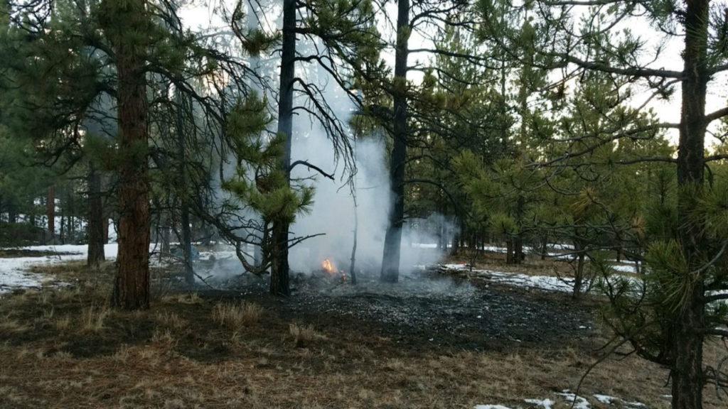 Slash Pile Burn
