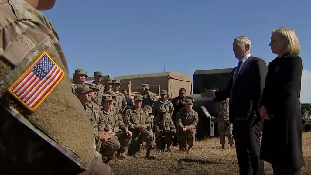 Mattis at the border