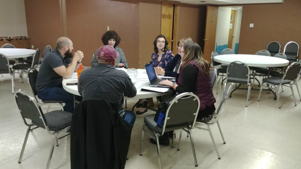 The Pueblo Rescue Mission's Board of Directors hosts a meeting on Nov. 14, 2018, outlining the group's work to operate a new short-term warming shelter in Pueblo.