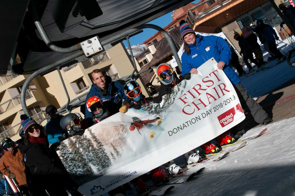 Crested Butte Donation Day