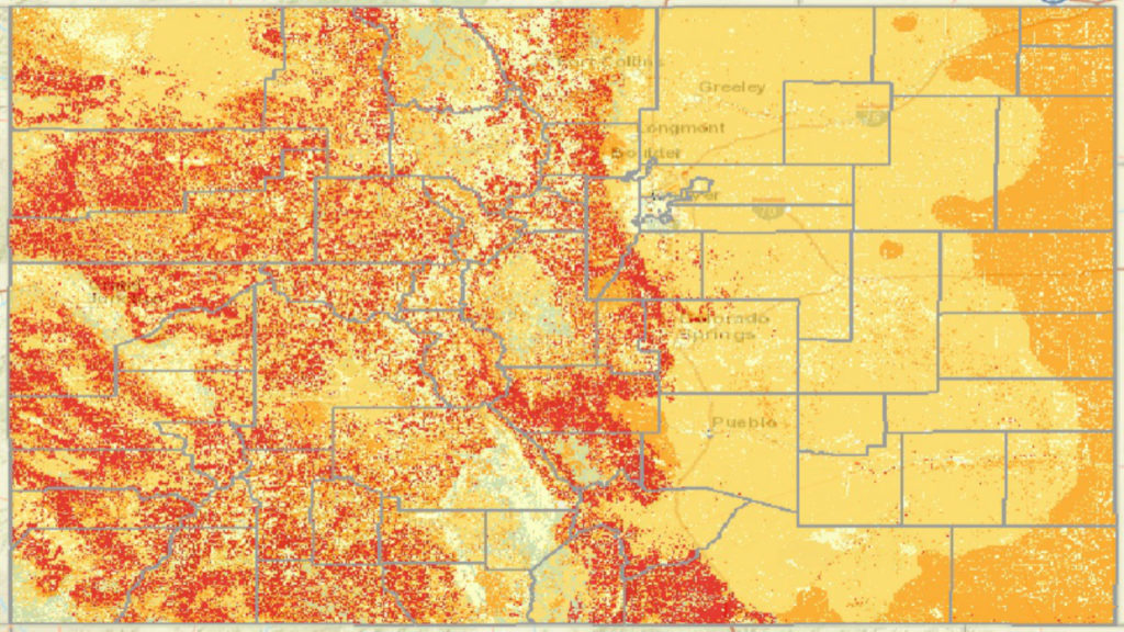 Nearly half of Coloradans now live in wildfire risk zones