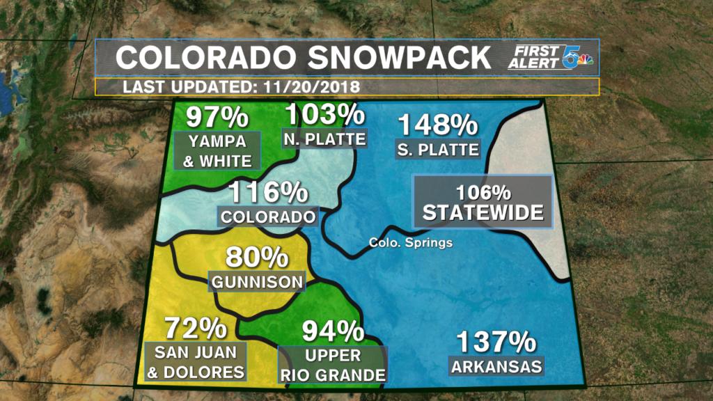 Colorado Snowpack