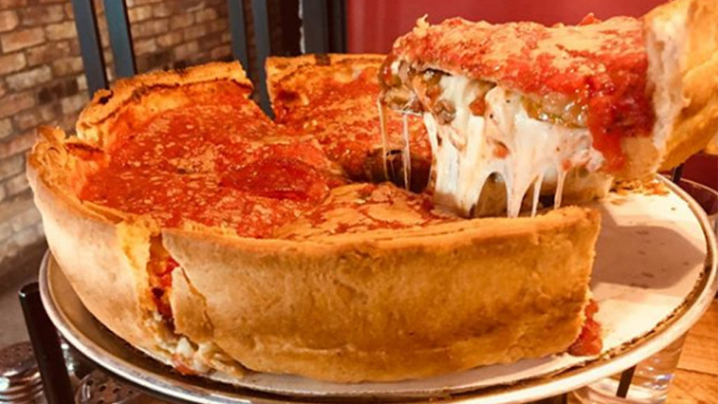 Image result for chicago pizza