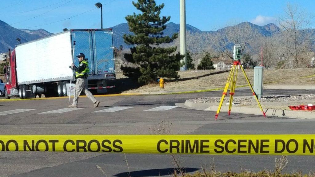 Hartsel Dr Pedestrian Crash
