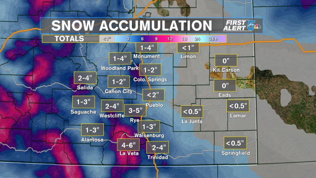 Snowfall Expectations