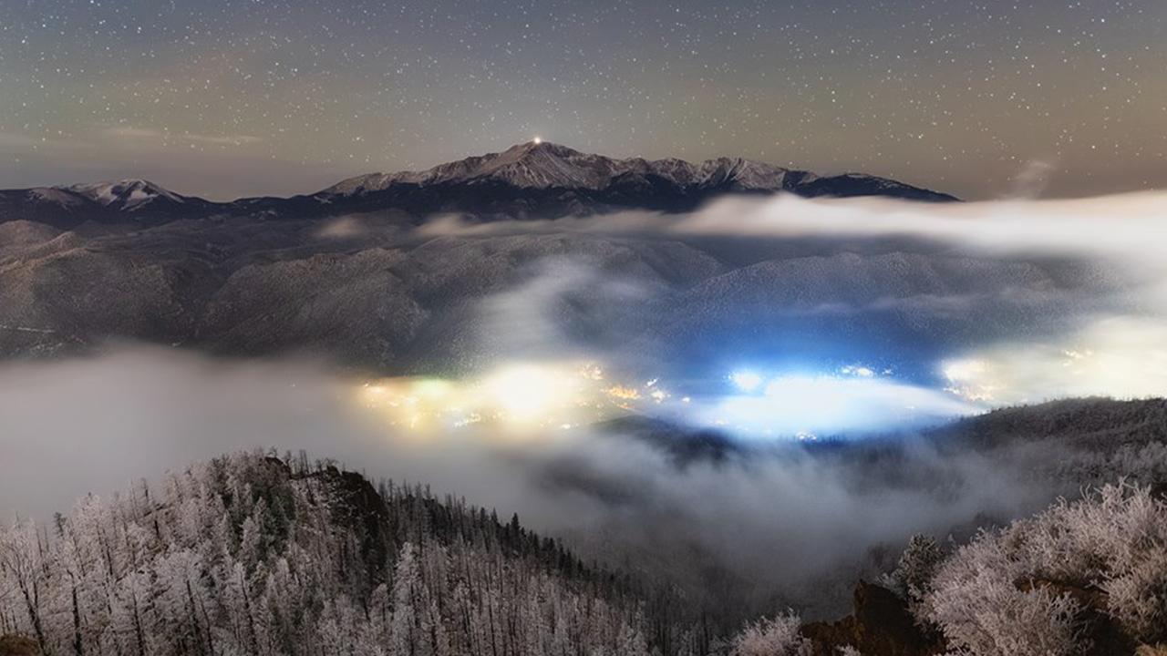 Peak above the clouds