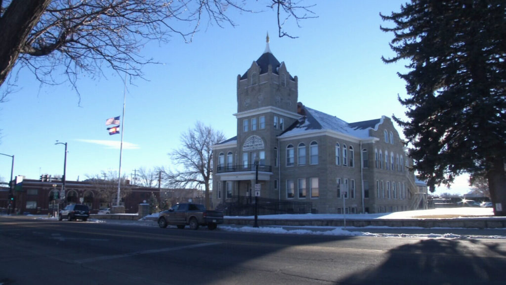 Huerfano County voters approved a one-cent sales tax increase in Nov. 2019 to pay for a new courthouse. The old building will be remodeled to include other county agencies.