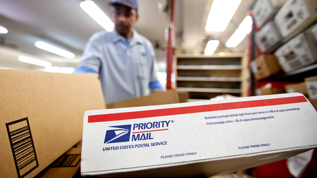 Post office, shipping, packages