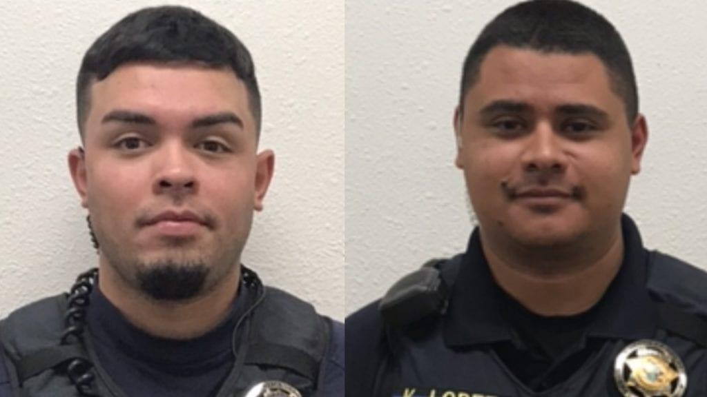 Deputy Trenton Gomez and Deputy Kenneth Lopez