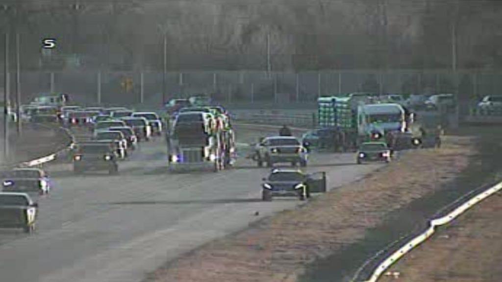 I-25 crash at Fontanero