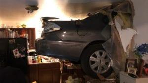 Car in Kitchen