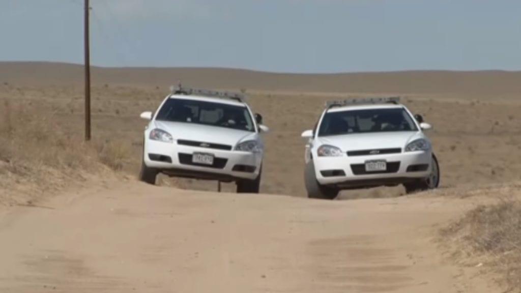 El Paso County Sheriff's Office Patrol Cars