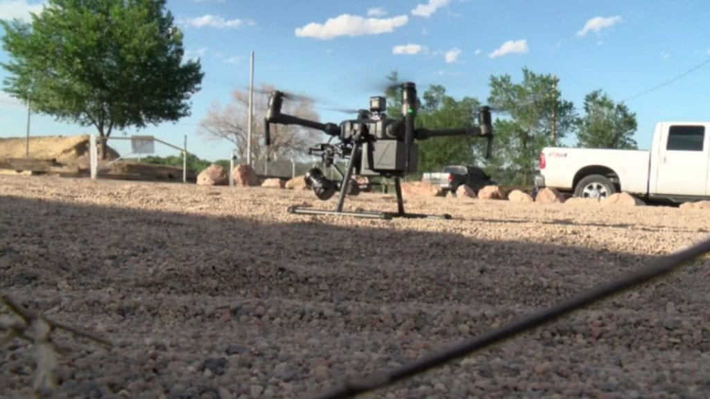 Pueblo Police Drone